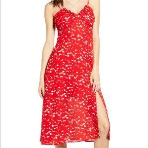 Shorted bustier bodice sundress dress